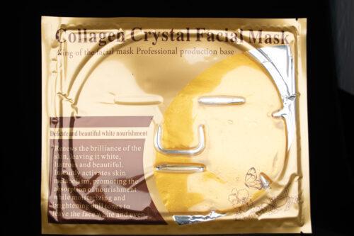 Collagen Gold Gesichtsmaske mit Q10 und Hyaluronsäure