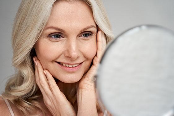 Hautalterung verhindern