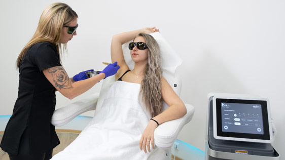 Kosmetische Eingriffe schmerzfrei mit Laser